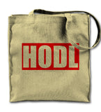 Hodl Bitcoin Cryptocurrency Tote Bag