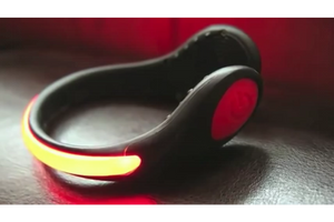 GeoElectricBikes:LED Light Spur Shoe Clip,Safety Lights