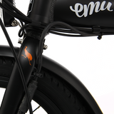 GeoElectricBikes:Emu Mini in Black with Battery - 2018 Model,Folding