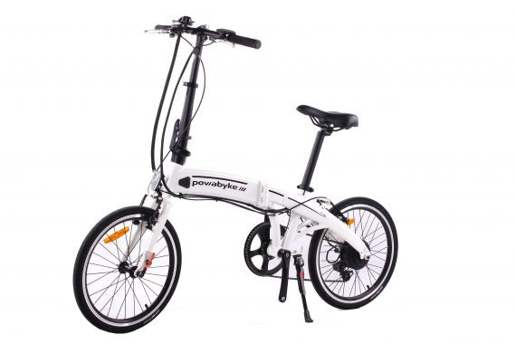 GeoElectricBikes:PowaByke F100 Folding Electric Bike,