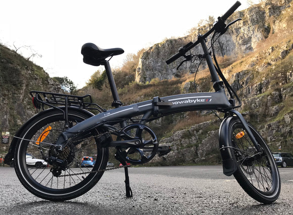 GeoElectricBikes:PowaByke F100DX Folding Electric Bike,Folding