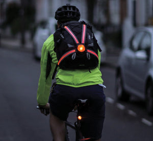 GeoElectricBikes:Oxford Commuter X4 Fiber Optic Rear Light,Safety Lights