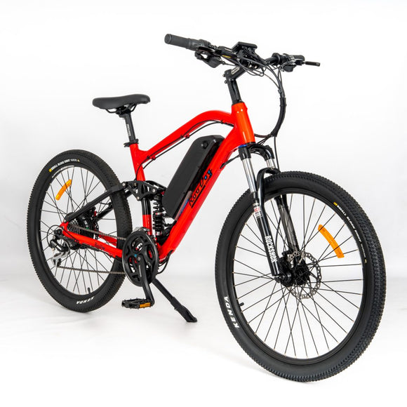 GeoElectricBikes:Striker FS Full Suspension Electric Mountain Bike,Lightweight