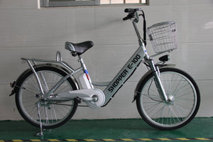 GeoElectricBikes:Shopper E100 Electric Bike,Step Through