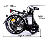 GeoElectricBikes:Roodog Bliss Folding Bike,Folding