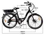 GeoElectricBikes:Roodog Chic,Step Through