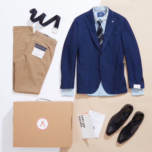 Smart Outfit Blazer Shirt Mix Match Mens Style