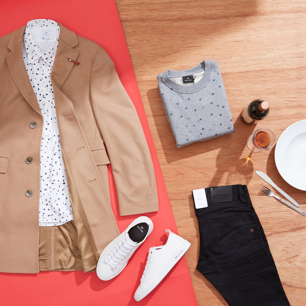 Mens Dinner First Date Smart Outfit