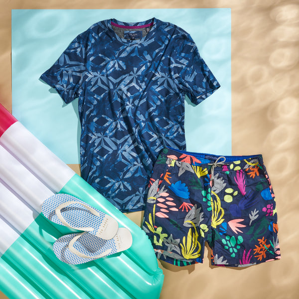 Swim Shorts Holiday Outfit Mens