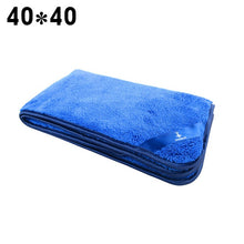 1pc Microfiber Towel Car Care Polishing Wash Towels Plush Washing Drying Towel Thick Plush Polyester Fiber Car Cleaning Cloth
