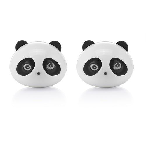 2pcs Mini Panda Car Air Vent Air Freshener Clip-on Car Air Conditioning Vent Flavoring In the Car parfums Fragrance Diffuser