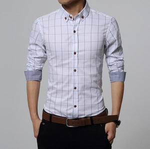 Men's shirts made of cotton