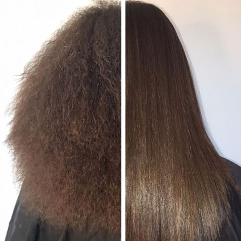 keratine silky straight hair in minutes beeegogo