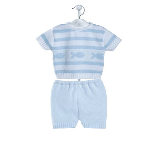 Dandelion Baby Boys 2 Piece Knitted Set