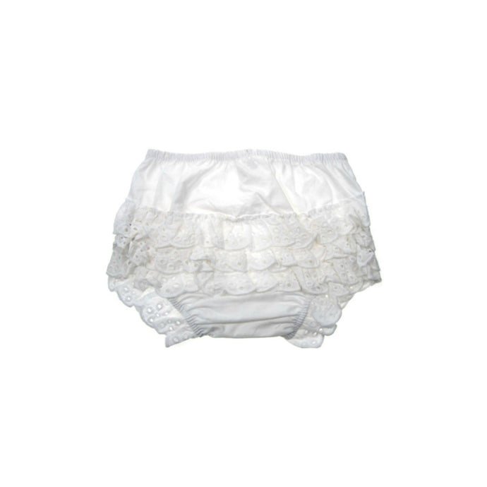 Girls Cotton Frilly Knickers