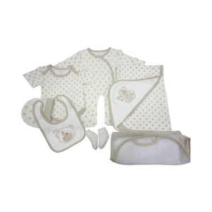 Teddy 7 Piece Layette Set