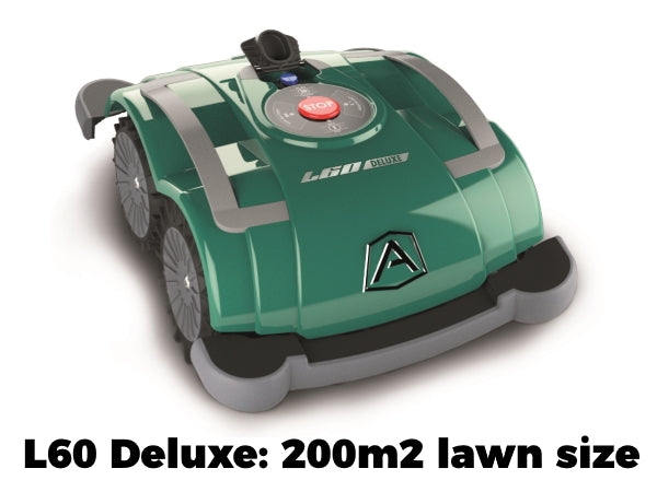 Ambrogio L60 Deluxe Robot Lawn Mower Lawn Size