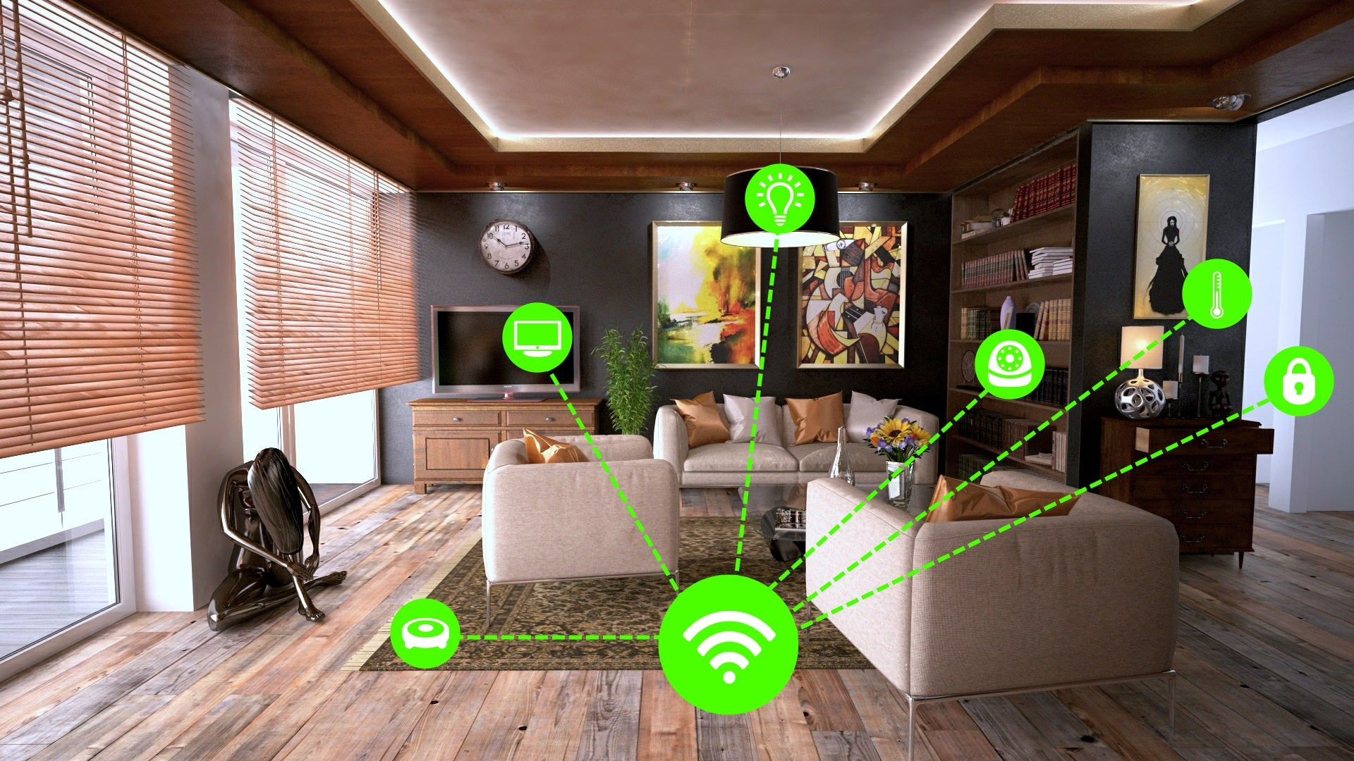 Connected Home Devices | Robautic