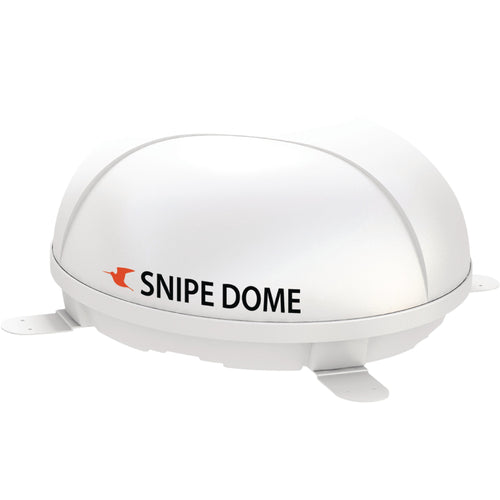 Selfsat Automatic SNIPE DOME Flat Satellite Dish White