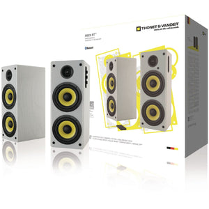 Thonet & Vander Hoch 2.0 Bluetooth Speaker 70W White/Yellow