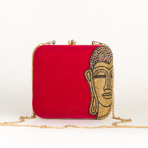 Red Budda Party Clutch