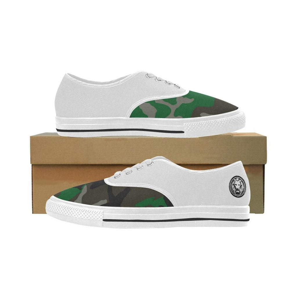 Cloth White Camo Womens Trainer Shoes