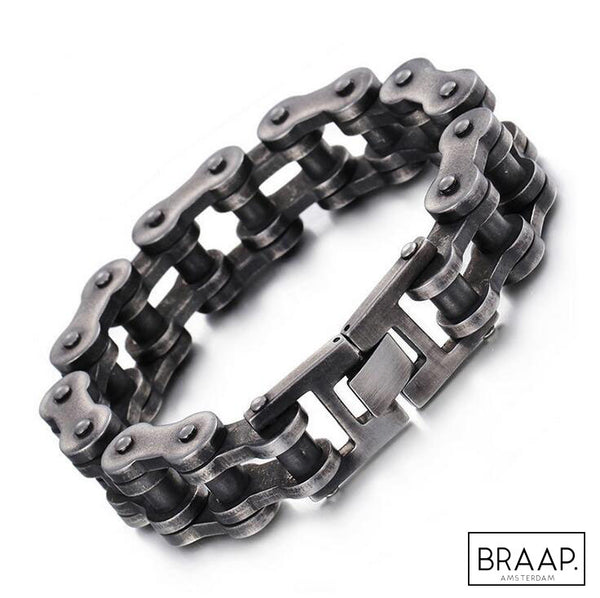 Bike Chain Bracelet - RAW! Massive! - BRAAP.®