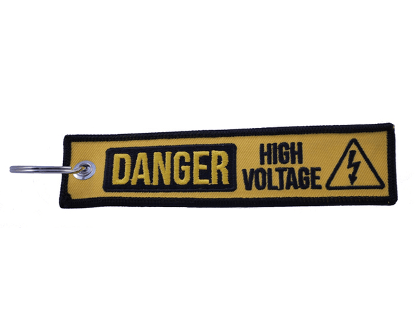 "Key Tag - ""High Voltage"" - BRAAP.®"