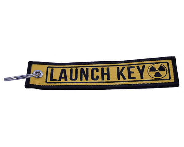 "Key Tag - ""Launch Key"" - BRAAP.®"