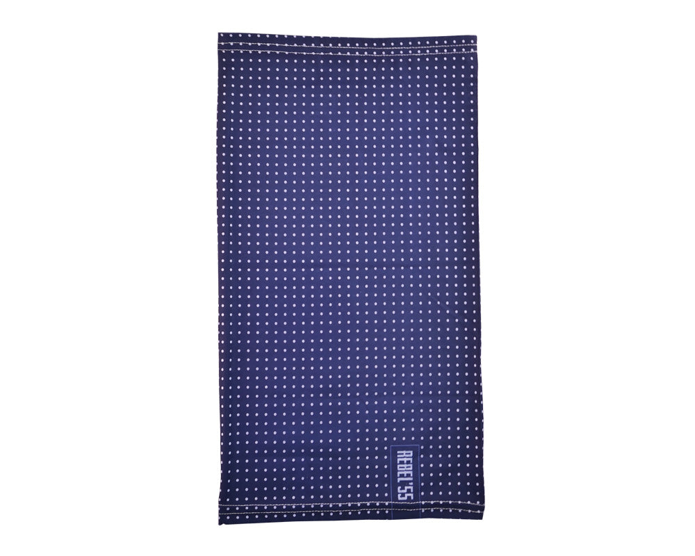 Motorcycle Neck Tube Polka Dot Blue