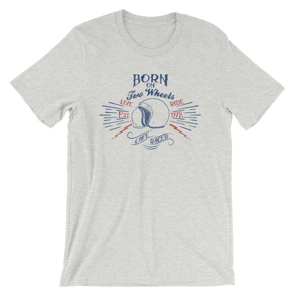 Born on Two Wheels Shirt - BRAAP.®