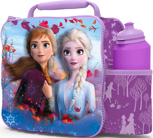3D Lunch Bag with Bottle - Frozen II