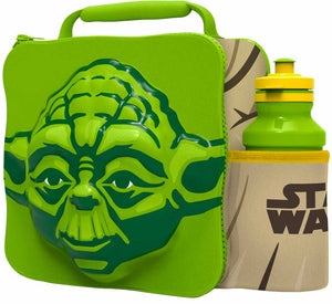 ST363 - 3D Lunch Bag with Bottle - Yoda