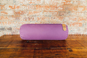 Myga Yoga Support Bolster Pillow - Plum