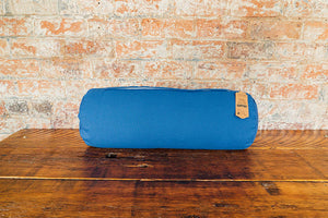 Myga Yoga Support Bolster Pillow - Blue