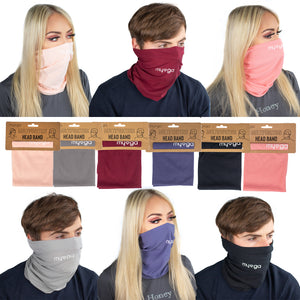 Multi Functional Neck Gaiter (Block Colour)