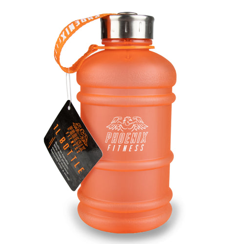 1L Drinks Hydration Water Bottle - Orange
