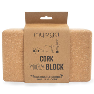 Cork Eco Yoga Brick Block