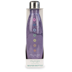 Myga Metal 500ml Drinks Bottle - Chakra