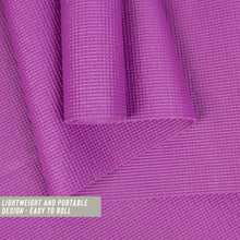 Entry Level Yoga Mat - Plum