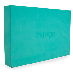 Extra Large Foam Yoga Block - Turquoise