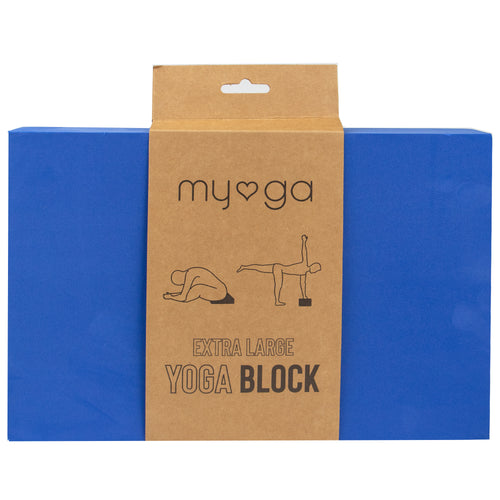 Extra Large Foam Yoga Block - Royal Blue
