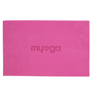 Extra Large Foam Yoga Block - Plum