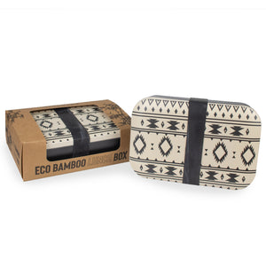 Bamboo Eco Lunch Box - Aztec