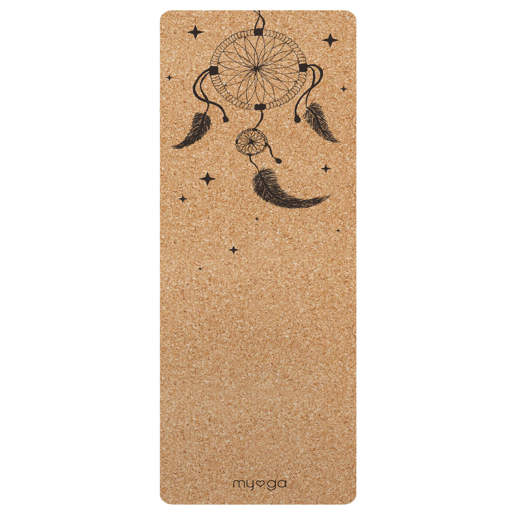 Dream Catcher XL Cork Yoga Mat