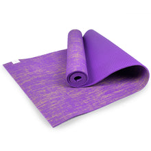 Myga Jute Yoga Mat - Purple