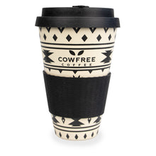 Eco Bamboo Coffee / Travel Mug - Aztec