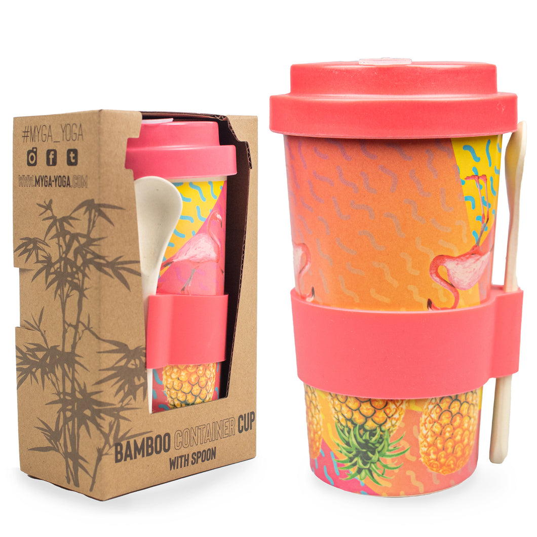 Tropical Bamboo Smoothie / Soup Cup 410ml