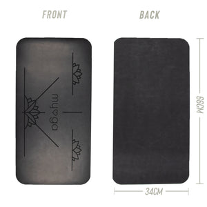 Alignment Yoga Pad - Black