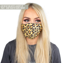 Reusable Bamboo Face Mask Leopard